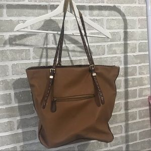 Jessica Simpson Brown Leather Tote Bag🤎